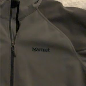 Men's Marmot Soft Shell fleece jacket Gray size XL